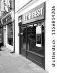 salisbury  wiltshire  england   ... | Shutterstock . vector #1136814206