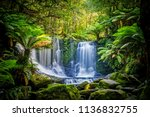 The Horseshoe Falls at the Mt Field National Park, Tasmania, Australia