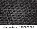 distress grunge halftone dark... | Shutterstock .eps vector #1136862605