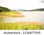 umium lake  meghalaya  india | Shutterstock . vector #1136877545