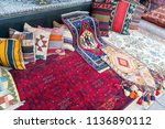 beautiful and colored turkish... | Shutterstock . vector #1136890112