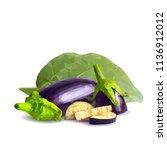 fresh  nutritious  tasty... | Shutterstock .eps vector #1136912012