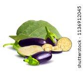 fresh  nutritious  tasty... | Shutterstock .eps vector #1136912045