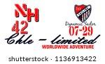 stylish trendy slogan tee t... | Shutterstock .eps vector #1136913422