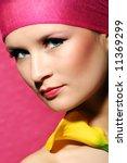 beauty portrait of a beautiful... | Shutterstock . vector #11369299