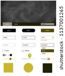 dark green  yellow vector web...