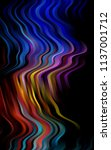 dark multicolor  rainbow... | Shutterstock . vector #1137001712
