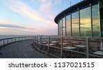 restaurant on pier in... | Shutterstock . vector #1137021515