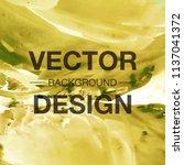 modern watercolor vector... | Shutterstock .eps vector #1137041372