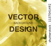 modern watercolor vector... | Shutterstock .eps vector #1137041492