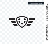 badge vector icon isolated on... | Shutterstock .eps vector #1137073052