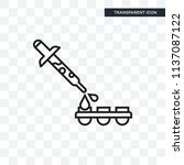 dropper vector icon isolated on ...   Shutterstock .eps vector #1137087122
