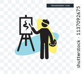 painter painting vector icon...   Shutterstock .eps vector #1137092675