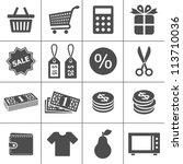Shopping Icons. Simplus Series...