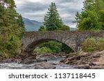 Falls Of Dochart In Scotland