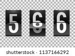 mechanical scoreboard vector...   Shutterstock .eps vector #1137166292