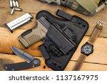 tactical gear such as semi... | Shutterstock . vector #1137167975
