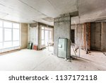 material for repairs in an... | Shutterstock . vector #1137172118