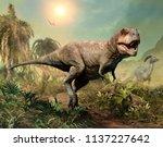 Tyrannosaurus Rex Scene 3d...