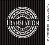 translation silver badge or... | Shutterstock .eps vector #1137235742