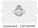 gold membership retro style... | Shutterstock .eps vector #1137269348