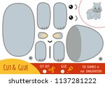 education paper game for... | Shutterstock .eps vector #1137281222