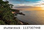 sunrise at the timp of acireale (alba alla Timpa di Acireale) Sicily