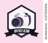 photographic camera icon   Shutterstock .eps vector #1137333356