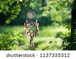 dreamcatcher  american native... | Shutterstock . vector #1137335312