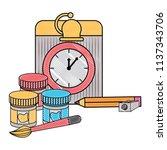 back to school design | Shutterstock .eps vector #1137343706