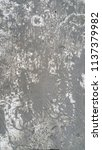 wet cement surface on white...   Shutterstock . vector #1137379982