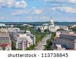 Washington Dc   Aerial View Of...