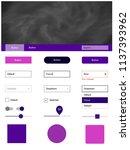 dark purple vector wireframe...