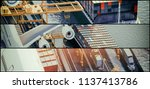 logistic multilens style... | Shutterstock . vector #1137413786