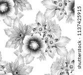abstract elegance seamless... | Shutterstock . vector #1137425915