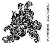 raster version illustration ... | Shutterstock . vector #1137433562