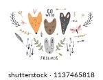 vector image  clipart  editable ... | Shutterstock .eps vector #1137465818