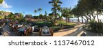 lahaina  maui  hi   usa   june... | Shutterstock . vector #1137467012