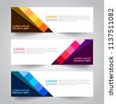 vector abstract design web... | Shutterstock .eps vector #1137511082