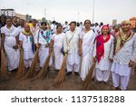 pandharpur   india 16 july 2018 ...   Shutterstock . vector #1137518288