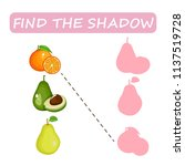 find the right shade of fruit.... | Shutterstock .eps vector #1137519728