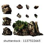 Set Of Different Stones...
