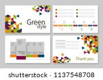this template is the best as a... | Shutterstock .eps vector #1137548708