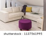 interior of a living room in... | Shutterstock . vector #1137561995