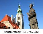 Cesky Krumlov A  Historic Town...