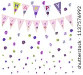 Happy Birthday Card With...