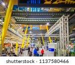 barajas  madrid  spain  07 19... | Shutterstock . vector #1137580466
