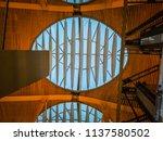 barajas  madrid  spain  07 19... | Shutterstock . vector #1137580502