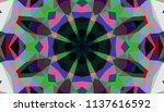 geometric design  mosaic of a... | Shutterstock .eps vector #1137616592