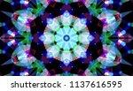 geometric design  mosaic of a...   Shutterstock .eps vector #1137616595